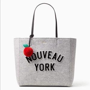 Kate Spade Nouveau York Gray Bag